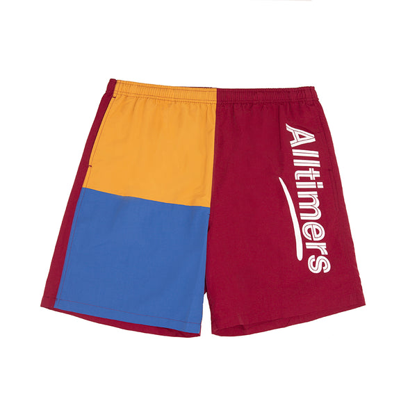 PART 3 SHORTS BURGUNDY