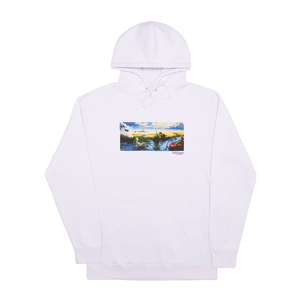 MIRAGE OASIS HOODY WHITE