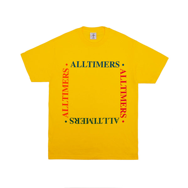 BOX EM OUT TEE YELLOW