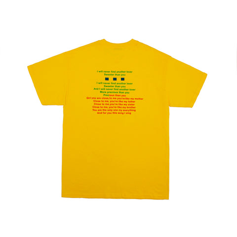 KAROKE TEE YELLOW