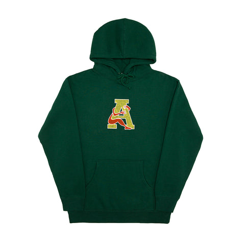 LOVE THYSELF HOODY FOREST GREEN