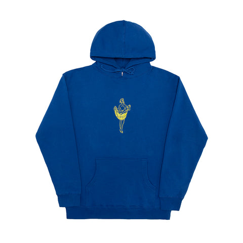 OOH LA LA HOODY ROYAL BLUE