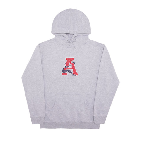 LOVE THYSELF HOODY HEATHER GREY