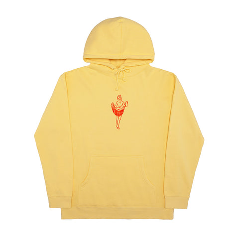 OOH LA LA HOODY LIGHT YELLOW