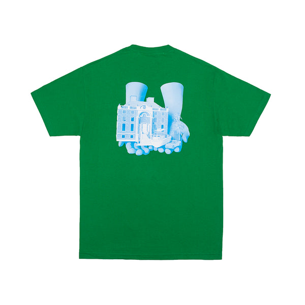 GOOD HANDS TEE KELLY GREEN