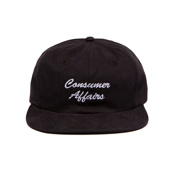 CONSUMER AFFAIRS HAT BLACK