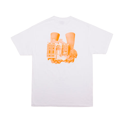 GOOD HANDS TEE WHITE