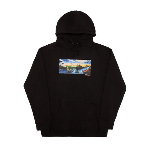 MIRAGE OASIS HOODY BLACK