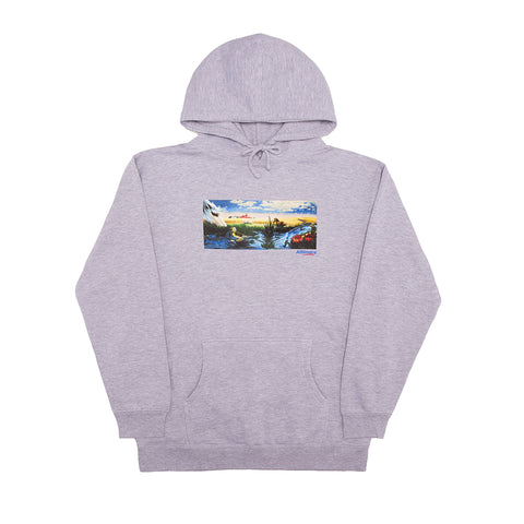 MIRAGE OASIS HOODY HEATHER GREY