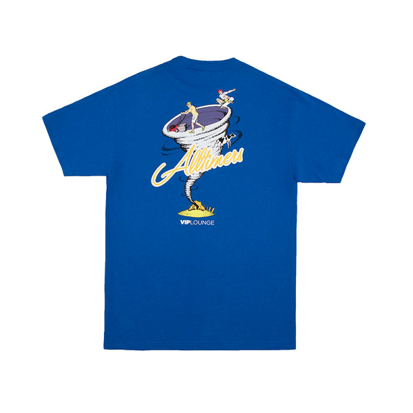 TWISTA TEE ROYAL BLUE