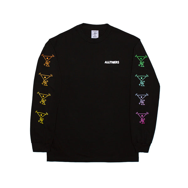 ACTION LONGSLEEVE TEE BLACK