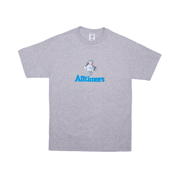 LIL ANGEL TEE HEATHER GREY