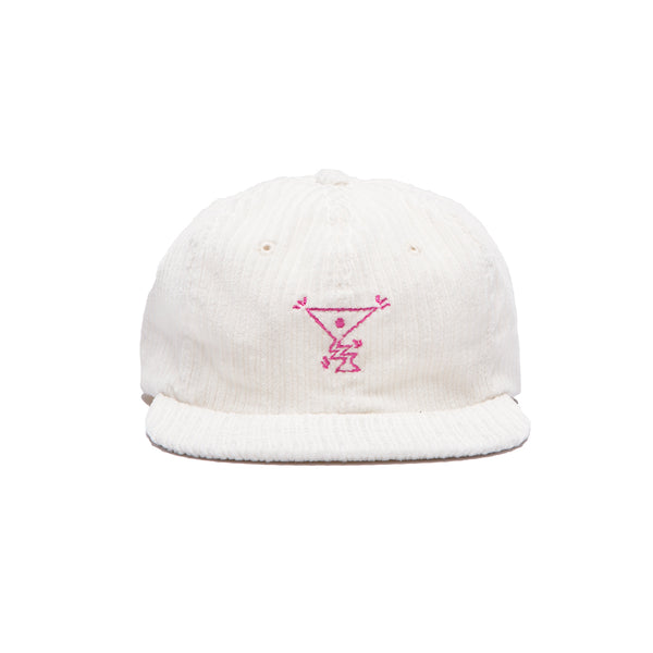 ACTION CORD HAT WHITE