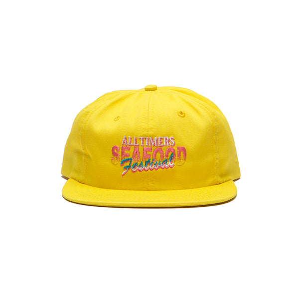 SEAFOOD FEST HAT YELLOW