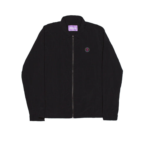 FANCY EASY COACHES JACKET BLACK