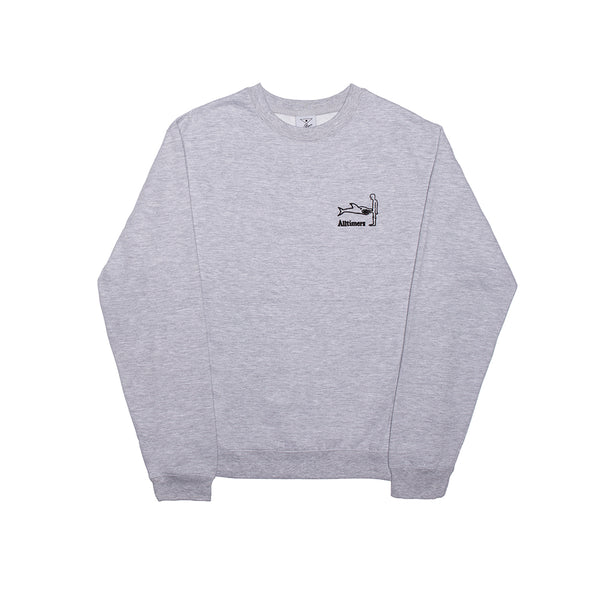 SHARK DICK CREW HEATHER GREY