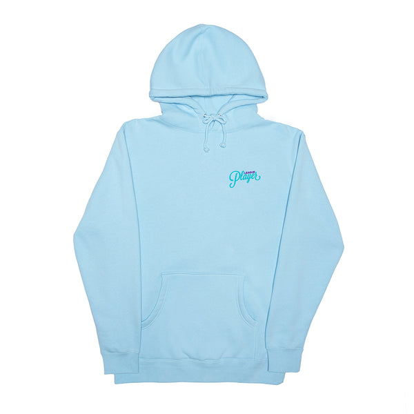 BREAKDOWN HOODY AQUA