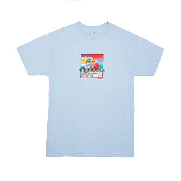 M DAVIS TEE POWDER BLUE