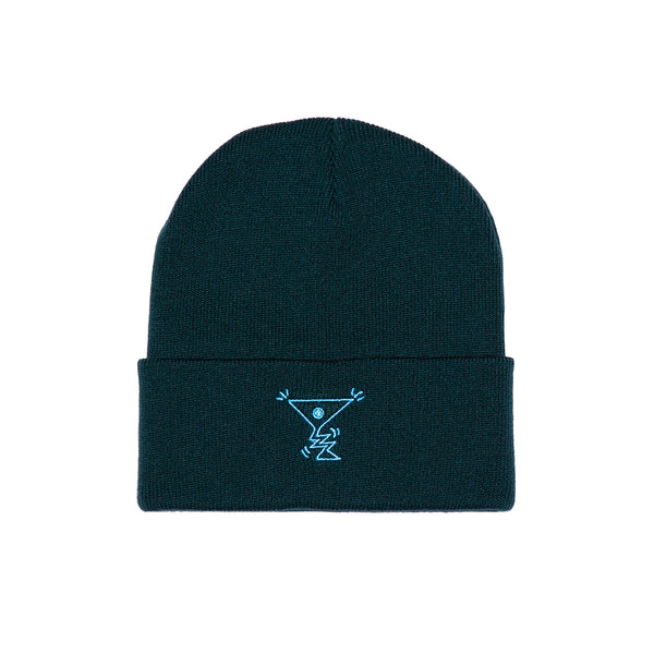 ACTION BEANIE FOREST GREEN