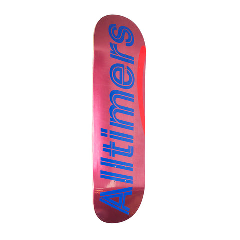 SHINY PINKS LOGO BOARD 8.5""