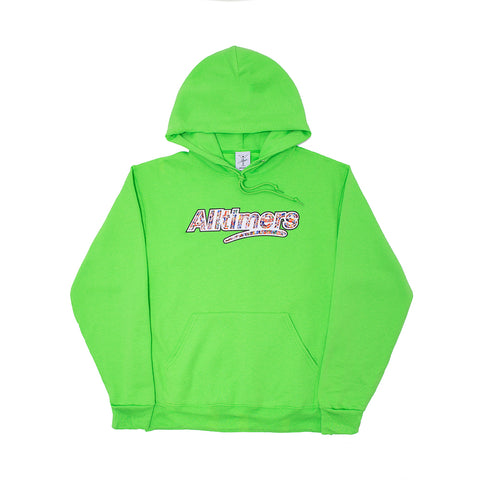 CROWD LOGO HOODY KIWI