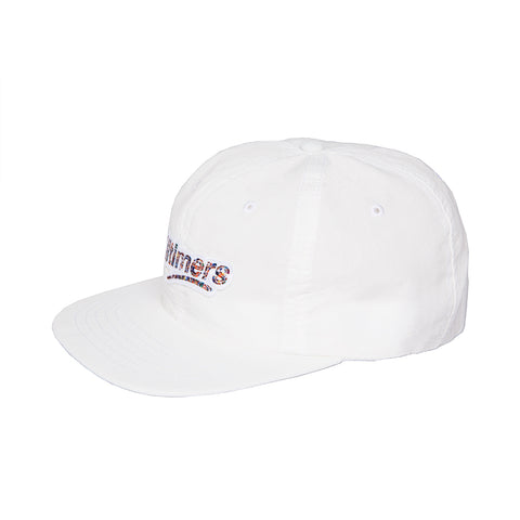 CROWD LOGO HAT WHITE