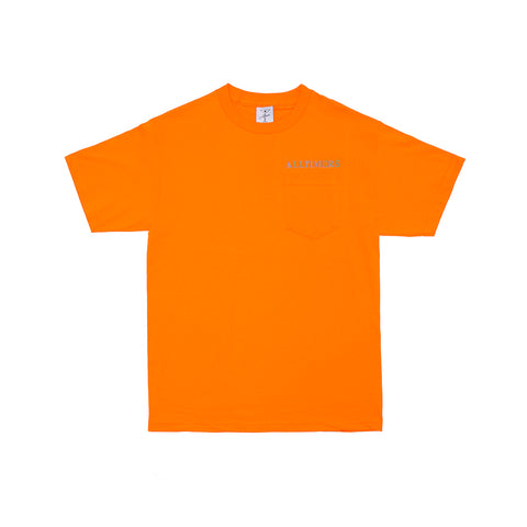 GROOVY POCKET TEE ORANGE