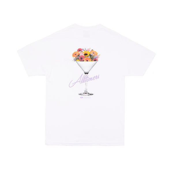 BOUQUET TEE WHITE
