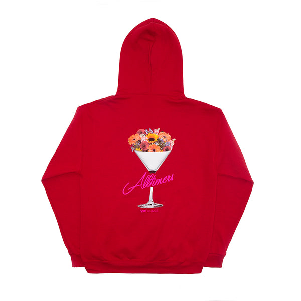 BOUQUET HOODY RED