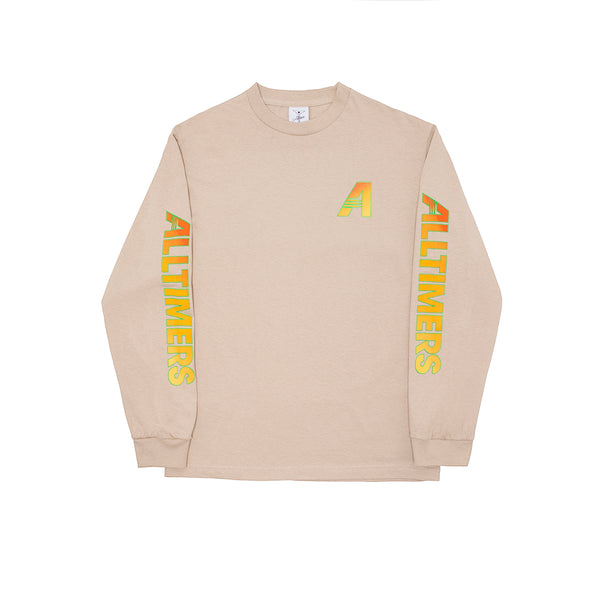 ARTISTS LONGSLEEVE TEE SAND
