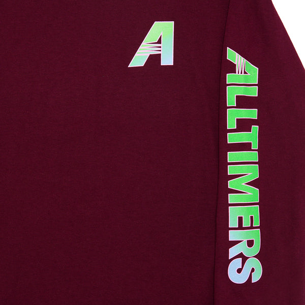 ARTISTS LONGSLEEVE TEE BURGUNDY