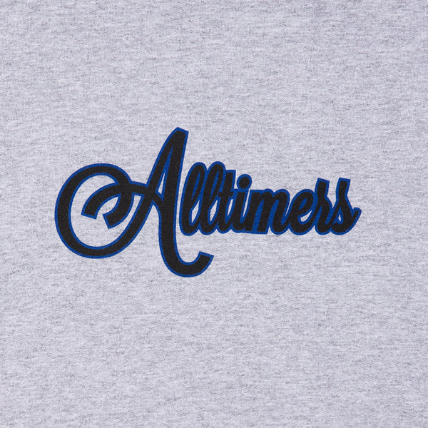 CURSIVE CREW HEATHER GREY