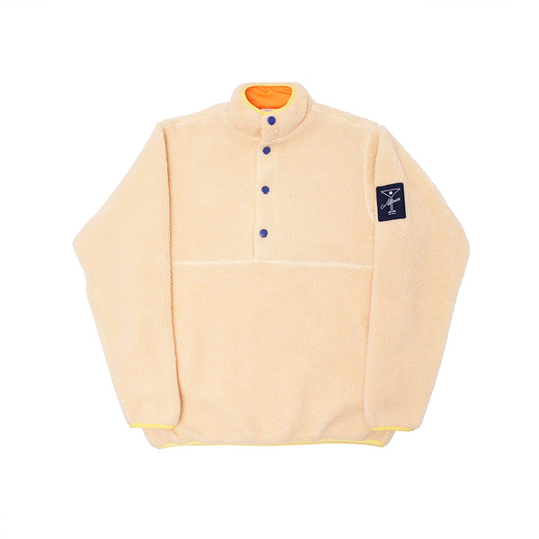 COUSINS FLEECE PULLOVER CREAM