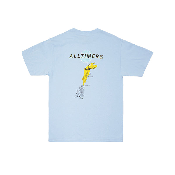 TIME ZONE TEE POWDER BLUE