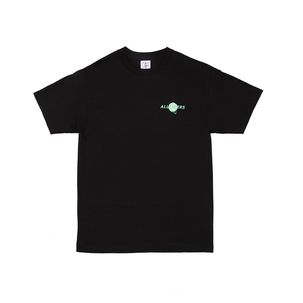 TIME ZONE TEE BLACK