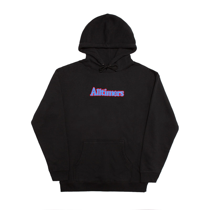 BROADWAY EMBROIDERED HOODY BLACK