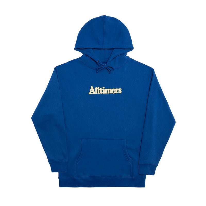 BROADWAY EMBROIDERED HOODY ROYAL BLUE