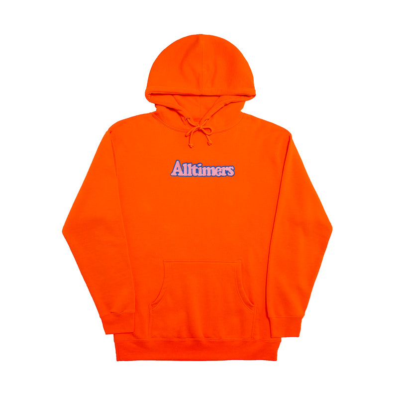 BROADWAY EMBROIDERED HOODY ORANGE