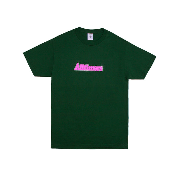 BARBAY BROADWAY LOGO TEE FOREST GREEN