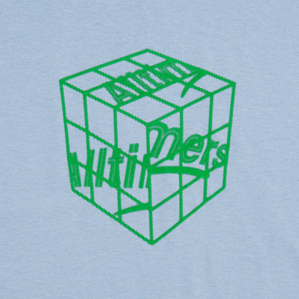 CUBED TEE POWDER BLUE