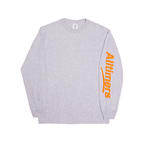 ESTATE PUFFY LONGSLEEVE TEE HEATHER GREY