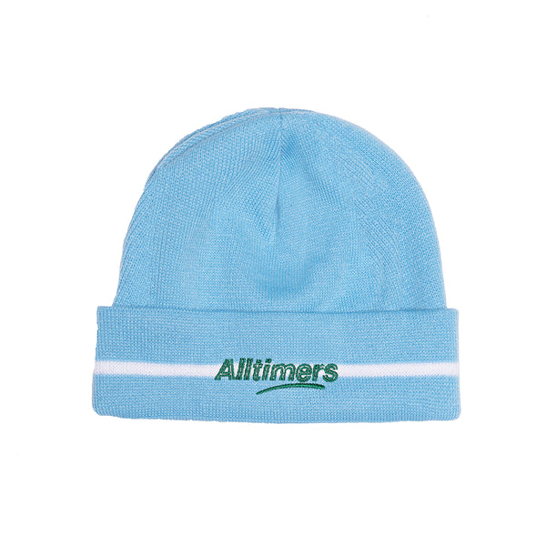 LINED ESTATE BEANIE POWDER BLUE