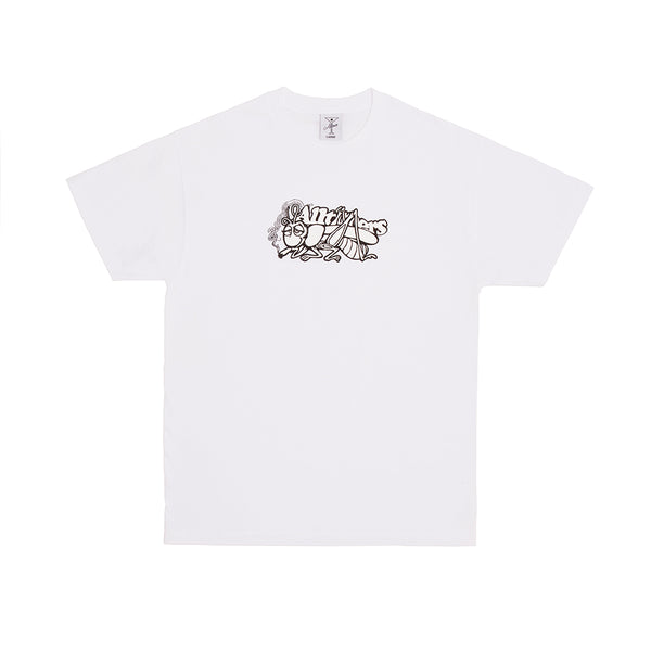 GRASS COPPER TEE WHITE