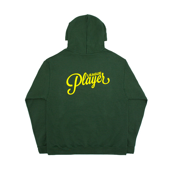 LEAGUE PLAYER CHAMPION HOODY DARK GREEN