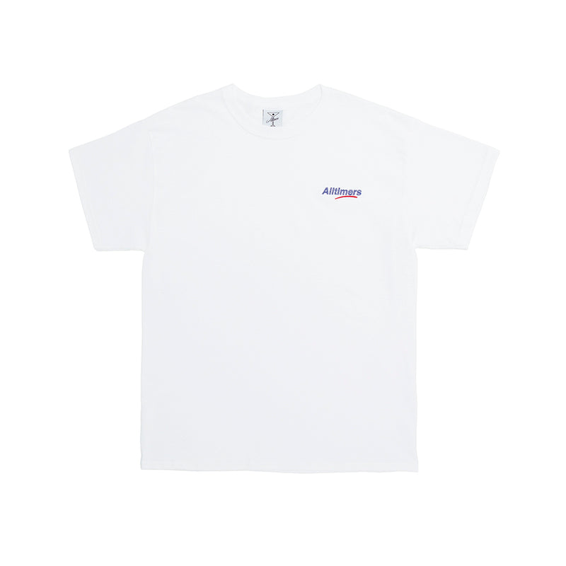 EMBROIDERED ESTATE TEE WHITE