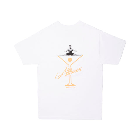 SPLITS LOGO TEE WHITE