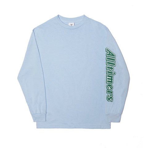 CHOCO LONGSLEEVE TEE POWDER BLUE