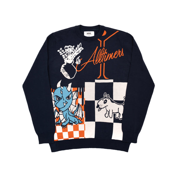 ALLTIMERS VANS SWEATER