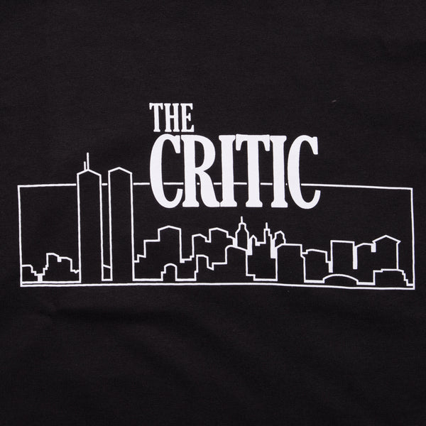 CRITIC LONGSLEEVE TEE BLACK