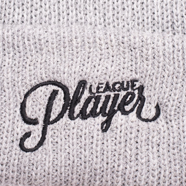 LEAGUE PLAYER BEANIE GREY